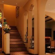 别墅地中海楼梯展示