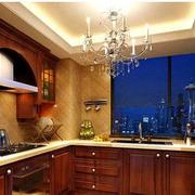 美式风格的厨房