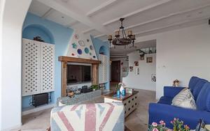 漂亮地中海风格农村自建房设计图