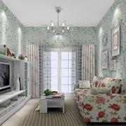 单身女公寓客厅