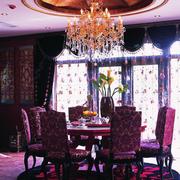 大气复古的餐厅