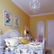 欧式田园卧室装饰