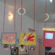 暖色调的幼儿园装饰