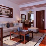 中式家装客厅装饰画