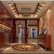 中式大户型家居鞋柜
