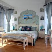 三室两厅卧室田园风格装潢