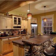 优雅的气派厨房