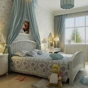 大气时尚的卧室