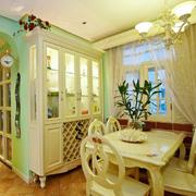 欧式温馨的餐厅