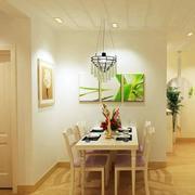 单身公寓餐厅装饰画