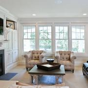美欧式风格客厅设计