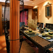餐厅实木法式餐桌