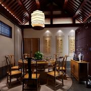 餐厅中式风格装潢