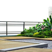 现代化的花园