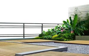 2015悠然自在的大户型入户花园装修效果图