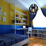 卧室置物架装饰
