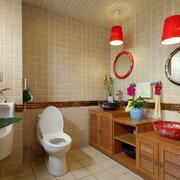 卫生间美式风格装潢