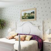 三室两厅卧室壁纸展示