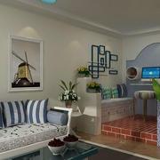 客厅地中海装饰