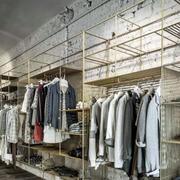 服装店衣架欣赏