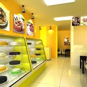 彩色的蛋糕店