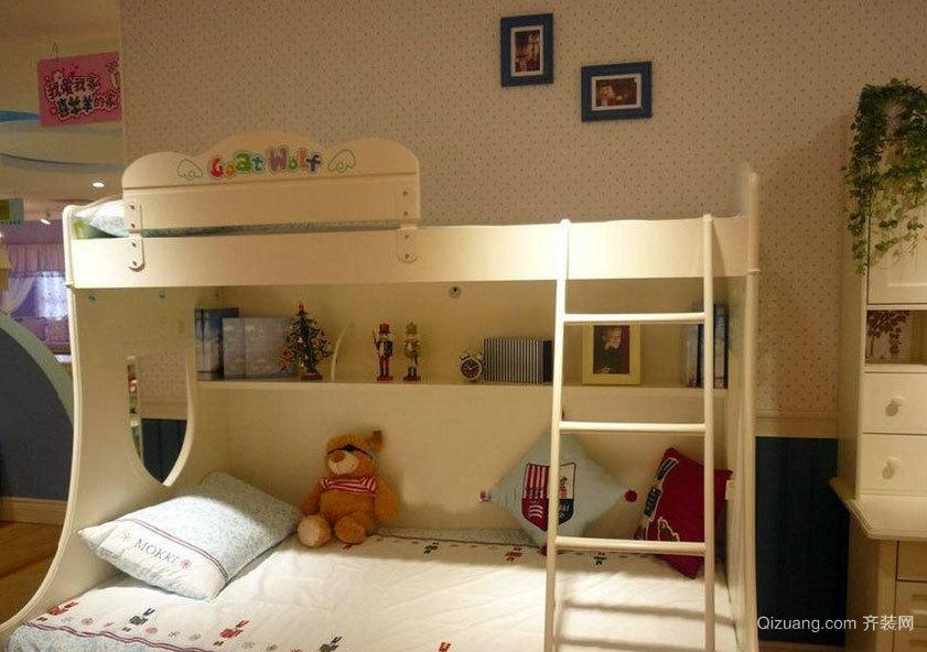 2015天真烂漫的儿童房高低床效果图鉴赏