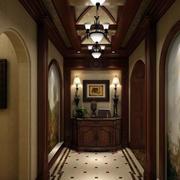 美式高贵的走廊吊顶