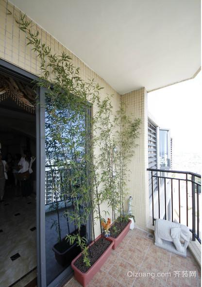 呼吸新鲜空气露台花园装修效果图