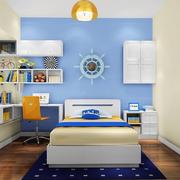 蓝色地中海儿童房