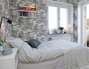 精致小卧室床图片