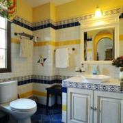 现代卫生间白色防水浴缸