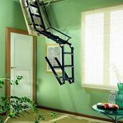 阁楼个性可折叠楼梯