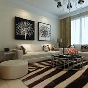 客厅地毯温暖装饰