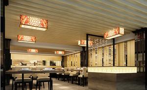 新中式饭店装饰