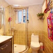 卫生间温馨墙面展示