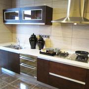 法式精致的厨房