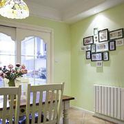 绿色清新餐厅装饰