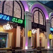 酒吧外观灯光