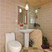 卫生间简洁装潢