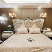 简欧风格卧室床
