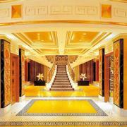 奢华的酒店景观