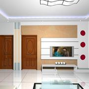 客厅白色时尚背景