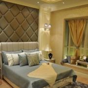 温馨卧室背景墙图片