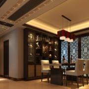餐厅中式装饰