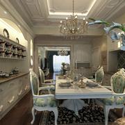 古典餐厅清新装潢