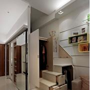 公寓楼梯置物柜