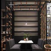 咖啡厅背景墙设计