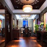 中式客厅吊顶