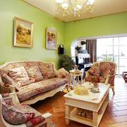 田园风格的家居客厅