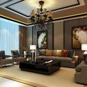 新现代风格客厅装潢